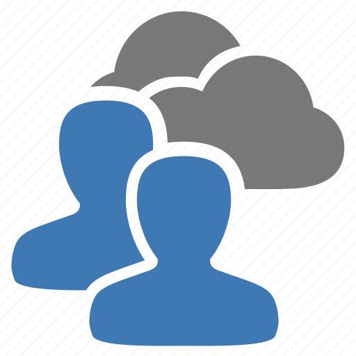 cloud, data, group, management, storage, user, users icon