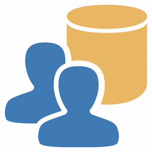 data, database, group, information, management, user, users icon