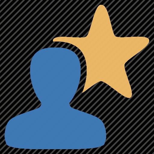 favorite, management, star, user icon