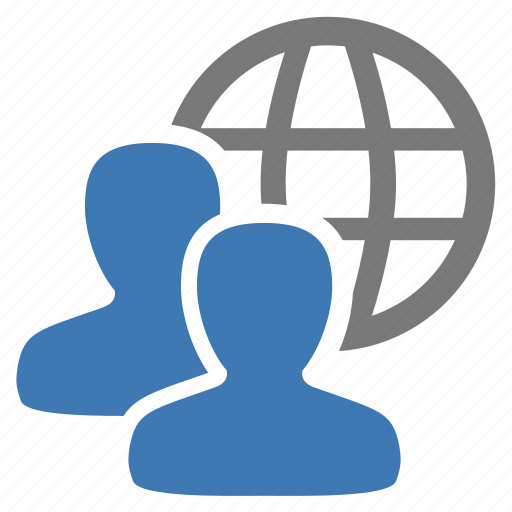 connected, group, internet, management, people, user, users icon