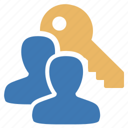 group, key, management, protection, security, serial, user icon