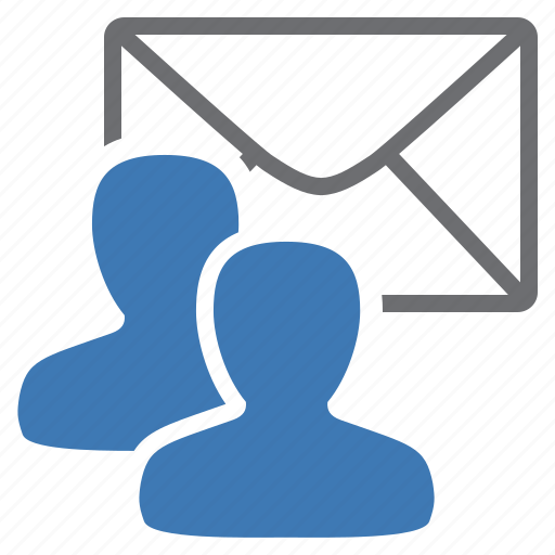 contact, group, letter, mail, management, user, write icon
