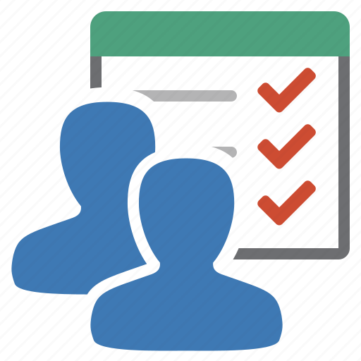 group, list, manage, management, objectives, tasks, to do icon