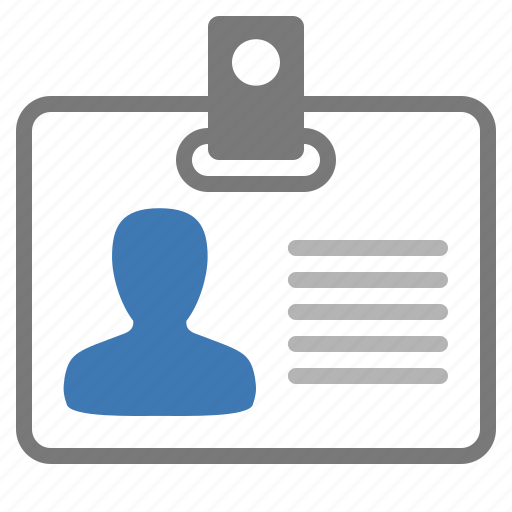 card, id, identity, man, management, official, user icon