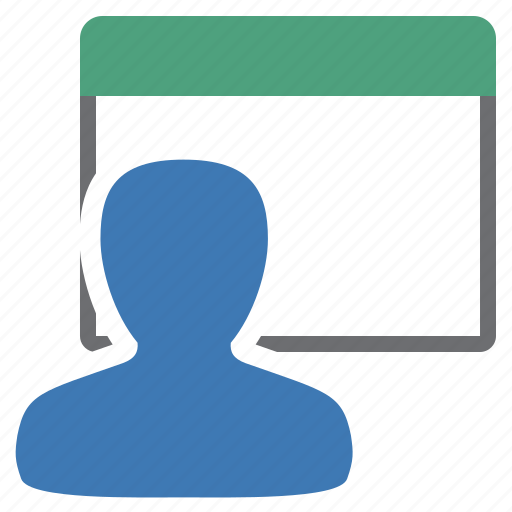 management, user, view icon