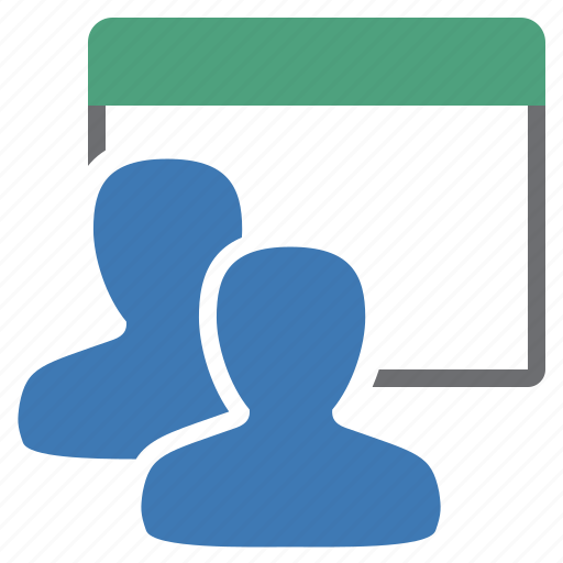 group, management, user, view icon