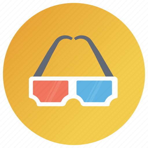 3d glasses, artificial intelligence, cyber space, virtual goggles, virtual reality, vr glasses icon