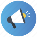 advertising, bullhorn, digital marketing, marketing, promotion icon