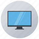 computer, desktop, display, lcd, monitor, multimedia icon