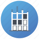 architecture, building construction, commercial construction, construction site, residential construction, under construction icon