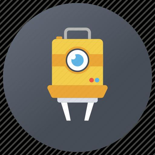 cinematography, film camera, film recorder, movie camera, video camera icon