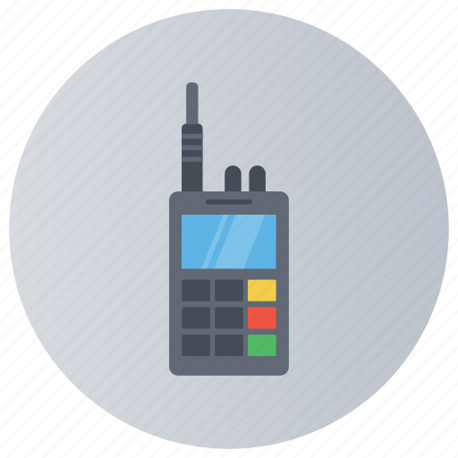 communication device, communication technology, cordless phone, handheld radio, walkie talkie icon