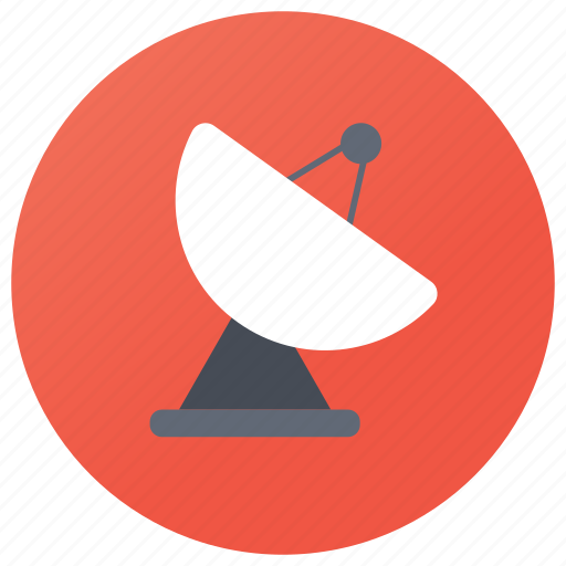 broadcast connection, gps, planetoid, satellite, space station icon