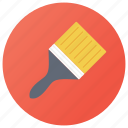 art brush, broom, brush, paint applicator, paint brush icon