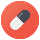 antibiotic, capsule, medicine, pellets, pharmacy, pills icon