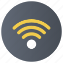 broadband network, internet sharing, signal strength, wifi signals, wireless network icon