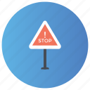barrier, construction barrier, exit block, obstruction, stop icon