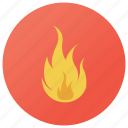 bonfire, burning, combustion, fire, flame, sparks icon