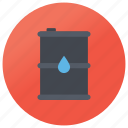 barrel, diesel tank, fuel barrel, liquid barrel, oil tank icon