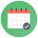 calendar, daybook, pipeline, schedule, timetable icon