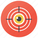 accuracy, crosshair, focus, goal, precision icon