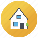 cottage, dwelling, house, hut, loghome icon