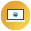 data protection, device locked, internet security, laptop security, pc protection icon