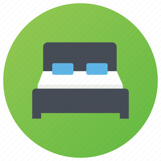 bed, bedroom, furniture, room interior, sleeping place icon