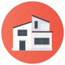 cottage, dwelling, hotel, house, loghome icon