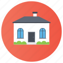 bungalow, cottage, dwelling, house, loghome icon