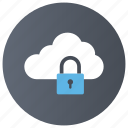 cloud protection, cloud services, data safety, internet password, network security icon