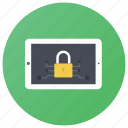 data protection, device locked, internet password, system protection, tablet security