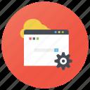 internet setting, online setting, seo, setting configure, web configuration, web page setting icon