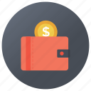 money purse, pocket, pocket cash, purse, wallet icon