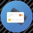 atm card, credit card, debit card, plastic card, smart card icon