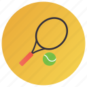 sports racket, sports squash, squash, tennis, tennis ball icon