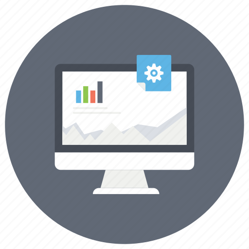 business evaluation, business set up, business website, e business, infographic icon