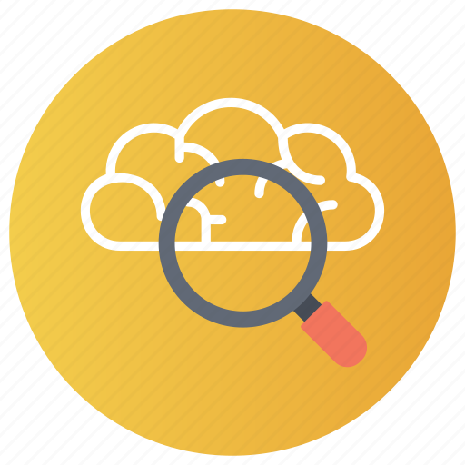 cloud computing, cloud exploration, cloud search, cloud service, cloud technology icon
