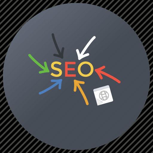 digital marketing, ecommerce, internet marketing, search engine optimization, seo icon