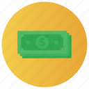 banknote, cash, currency, money, stock, treasure icon