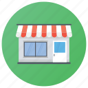 shop, boutique, department store, emporium, supermarket, showroom icon