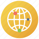 global collaboration, global network, international network, internet technology, worldwide network icon