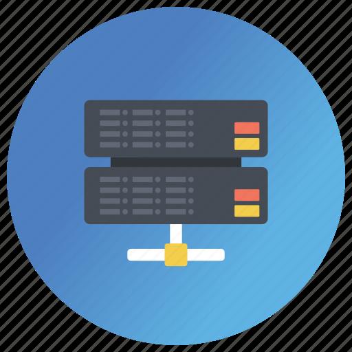 data center, data security, data server, database server, digital technology icon
