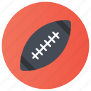 afl football, american football, canadian football, grid game, rugby, sports equipment icon