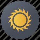 daylight, sun, sunlight, sunny weather, sunshine icon