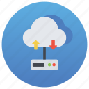 cloud computing, cloud network, data network, data sharing, network sharing, online data icon