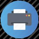 digital printer, inkjet, printer, printing machine, typesetter icon