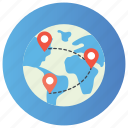 globalization, gps location, location map, navigation, searching location icon