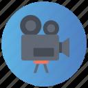 camcorder, camera, digital camera, media camera, video camera icon