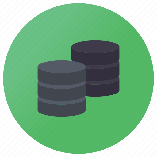 bibliography, collection of data, data bank, data shared, database, directory icon